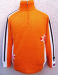 Norwegerpullover orange Gr.XL